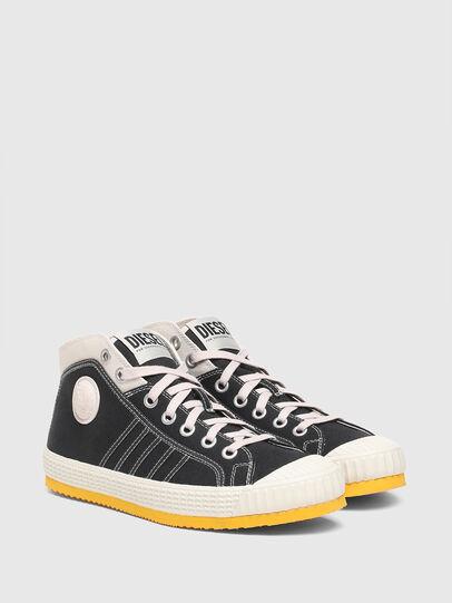 Diesel - S-YUK MC, Nero/Giallo - Sneakers - Image 2