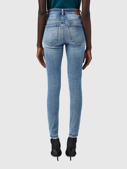 Diesel - Slandy High 09B09, Blu Chiaro - Jeans - Image 2