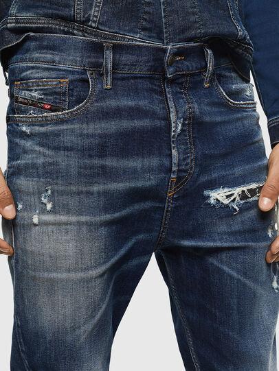 Diesel - D-Vider 0090G, Blu Scuro - Jeans - Image 3
