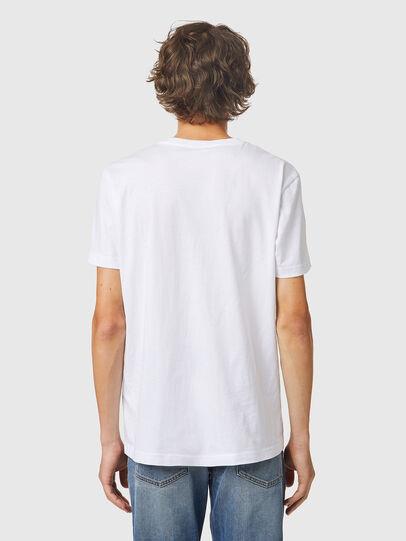 Diesel - T-DIEGOS-K24, Bianco - T-Shirts - Image 2