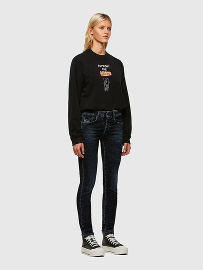 Diesel - D-Ollies JoggJeans® 069UH, Nero/Grigio scuro - Jeans - Image 5