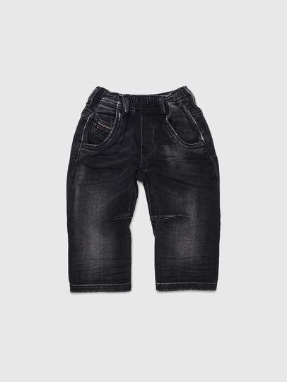 Diesel - FAYZA JOGGJEANS B-N, Nero/Grigio scuro - Jeans - Image 1