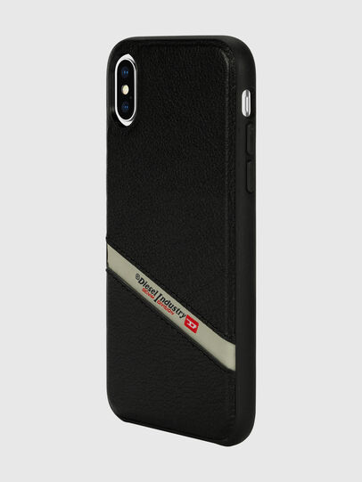 Diesel - DIESEL LEATHER CO-MOLD CASE FOR IPHONE XS & IPHONE X,  - Cover - Image 5