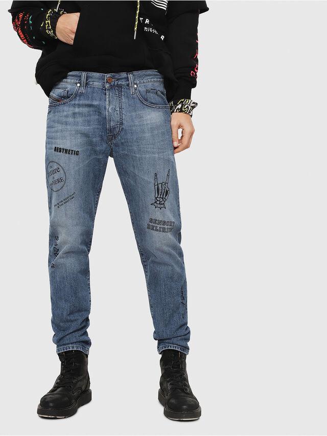 Diesel - Mharky 0094D, Blu medio - Jeans - Image 1