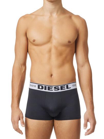 Diesel - 55-D-THREEPACK, Nero - Boxer stretch - Image 1