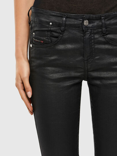 Diesel - D-Ollies JoggJeans® 069QJ, Nero/Grigio scuro - Jeans - Image 4