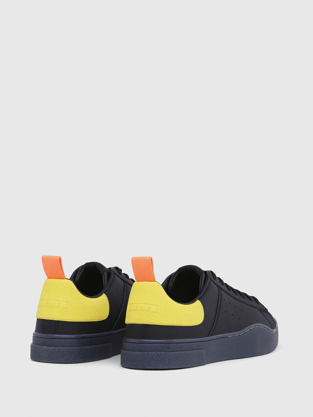Diesel - S-CLEVER LOW, Nero/Giallo - Sneakers - Image 3