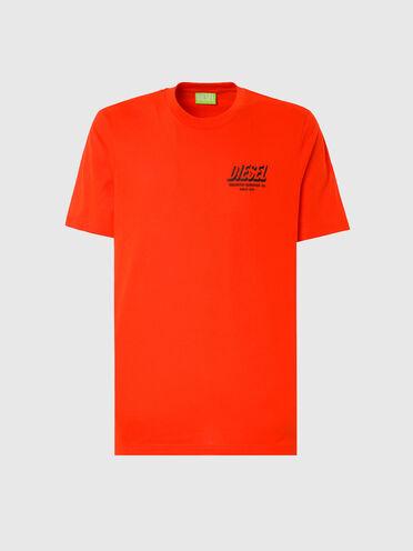 T-shirt Green Label con stampa del logo