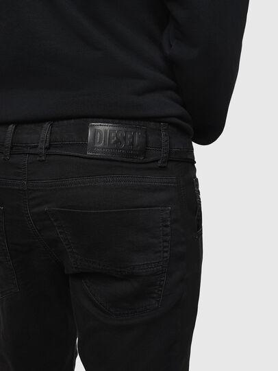 Diesel - Krooley JoggJeans 069JH, Nero/Grigio scuro - Jeans - Image 4