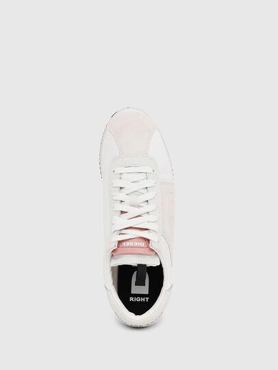 Diesel - S-PYAVE WEDGE, Bianco/Rosa - Sneakers - Image 5