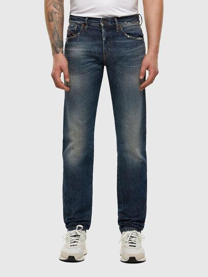 Diesel - D-Kras 009EW, Blu Scuro - Jeans - Image 1