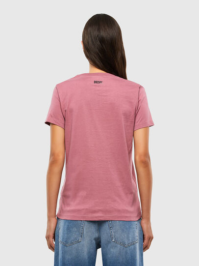 Diesel - T-SILY-V20, Rosa - T-Shirts - Image 2
