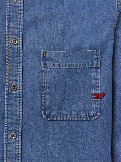 Diesel - D-BILLY, Blu Chiaro - Camicie in Denim - Image 3