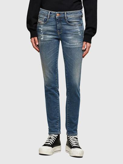 Diesel - D-Ollies JoggJeans® 069UW, Blu medio - Jeans - Image 1