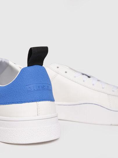 Diesel - S-CLEVER LOW, Bianco/Blu - Sneakers - Image 4