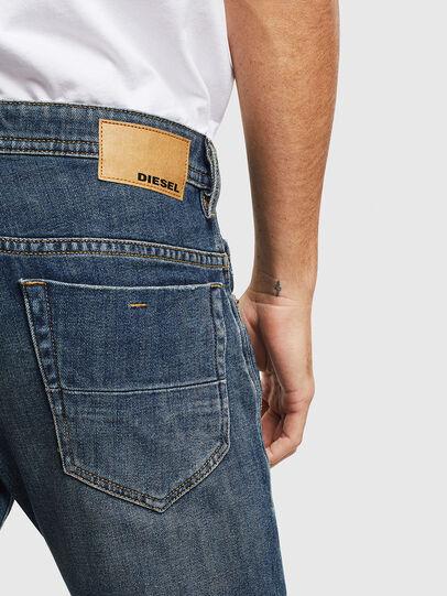 Diesel - Thommer 0095M, Blu Scuro - Jeans - Image 4