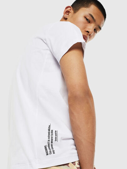 Diesel - T-HOVER, Bianco - T-Shirts - Image 3