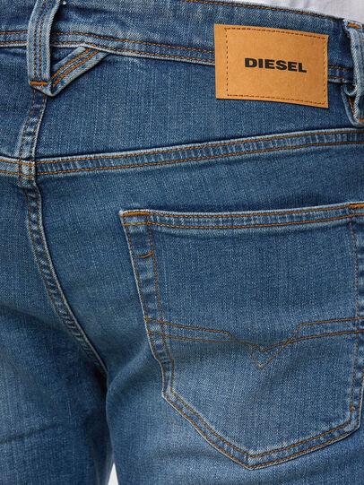 Diesel - Larkee 009DB, Blu medio - Jeans - Image 4