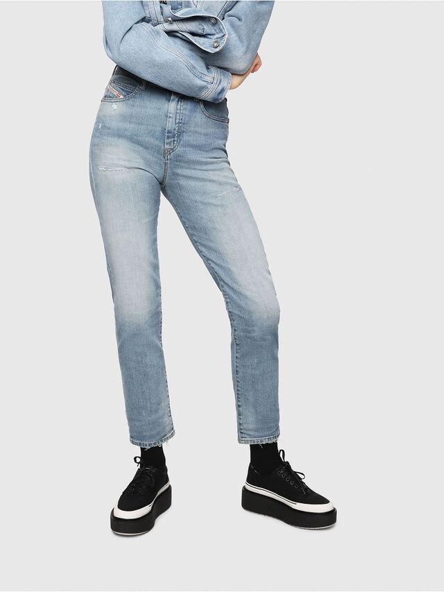 Diesel - D-Eiselle 069DY, Blu Chiaro - Jeans - Image 1