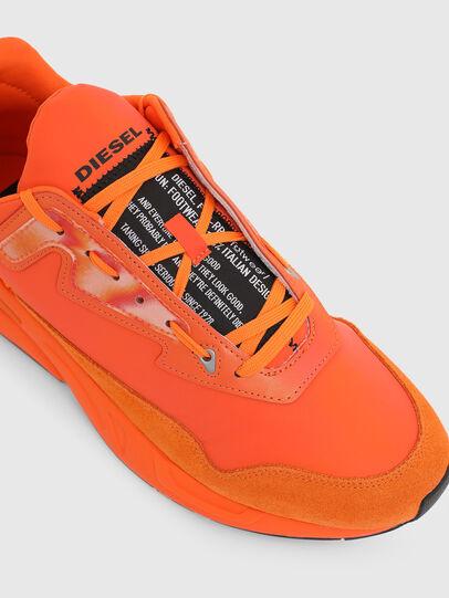 Diesel - S-SERENDIPITY LC, Arancione - Sneakers - Image 4