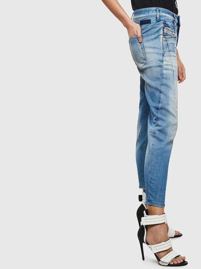 Diesel - Fayza JoggJeans 0099Q, Blu medio - Jeans - Image 5