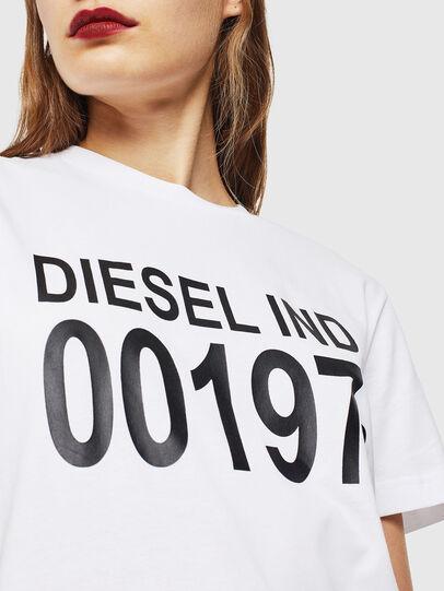 Diesel - T-DIEGO-001978, Bianco - T-Shirts - Image 5