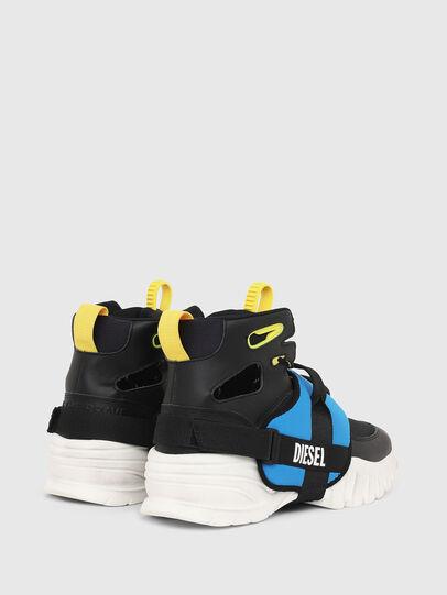Diesel - S-SHARQUEZ MID, Nero - Sneakers - Image 3