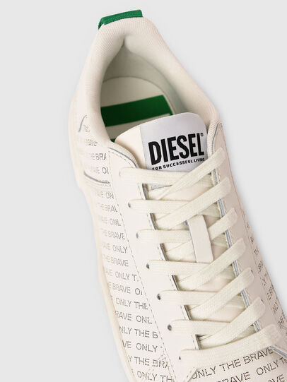 Diesel - S-CLEVER LOW LACE, Bianco/Verde - Sneakers - Image 4