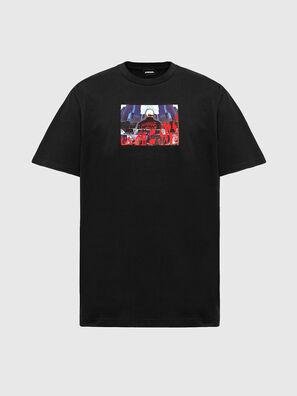 T-TUBOLAR-N2, Nero - T-Shirts