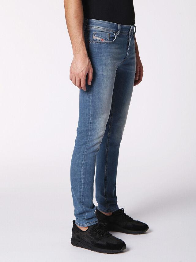 Diesel - Sleenker 084RV, Blu Jeans - Jeans - Image 3