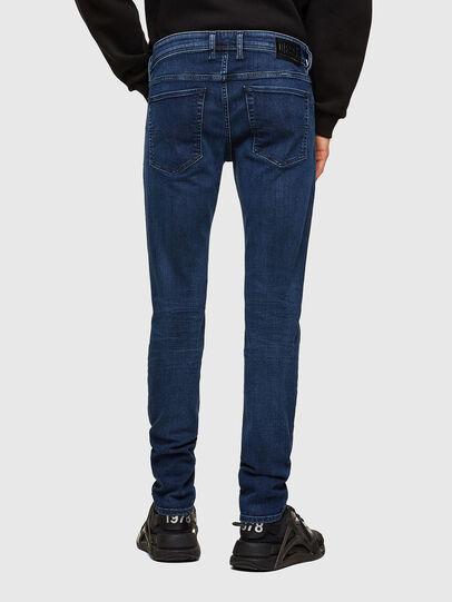 Diesel - Sleenker 009QI, Blu Scuro - Jeans - Image 2
