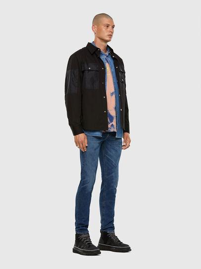 Diesel - Thommer 009DE, Blu Scuro - Jeans - Image 5