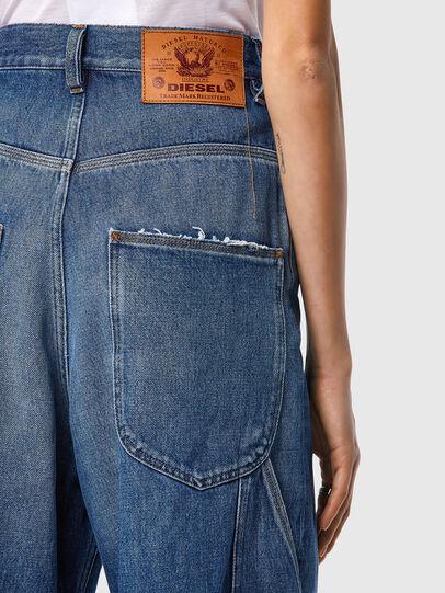 Diesel - D-Luite 09A82, Blu medio - Jeans - Image 4