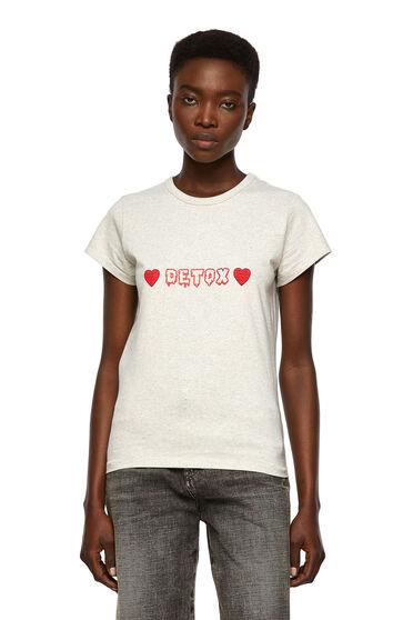 T-shirt con stampa Detox