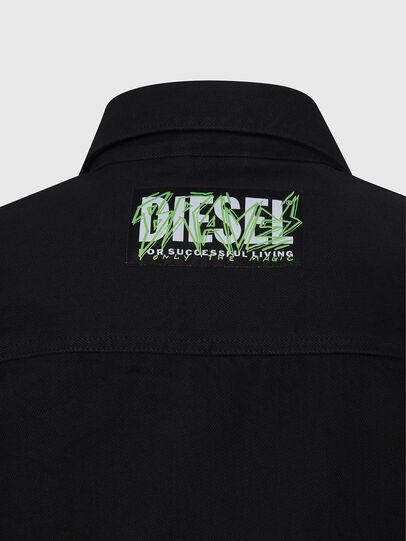 Diesel - NHILL-C, Nero - Giacche in denim - Image 6
