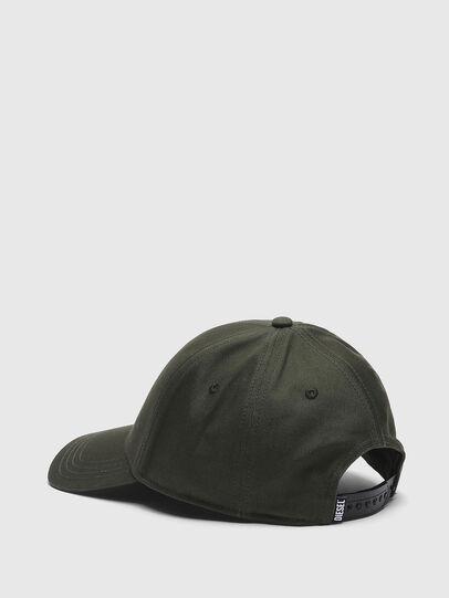 Diesel - CONDI-MAX-A, Verde Militare - Cappelli - Image 2