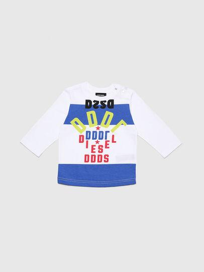 Diesel - TOLIB, Bianco/Blu - T-shirts e Tops - Image 1
