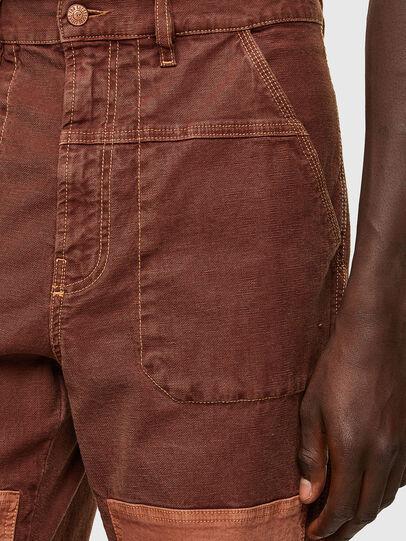 Diesel - D-Franky JoggJeans® 0DDAW, Marrone - Jeans - Image 5