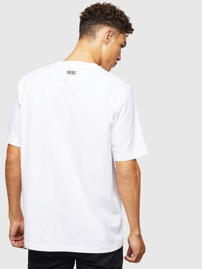 Diesel - T-JUST-J9, Bianco - T-Shirts - Image 3