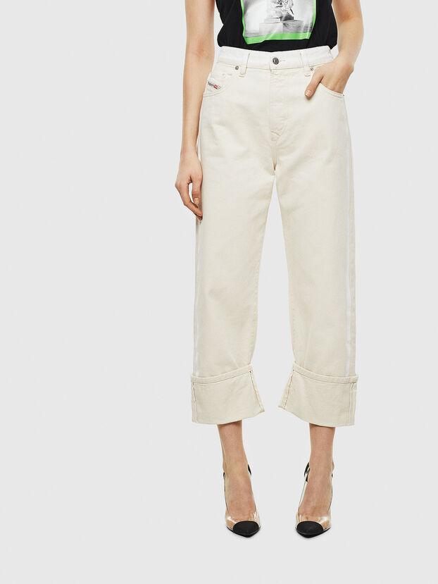 D-Reggy 009BB, Bianco - Jeans