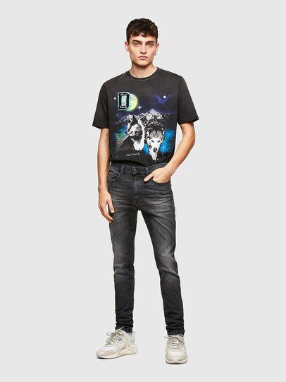 Diesel - D-Reeft JoggJeans® 009SU, Nero/Grigio scuro - Jeans - Image 5