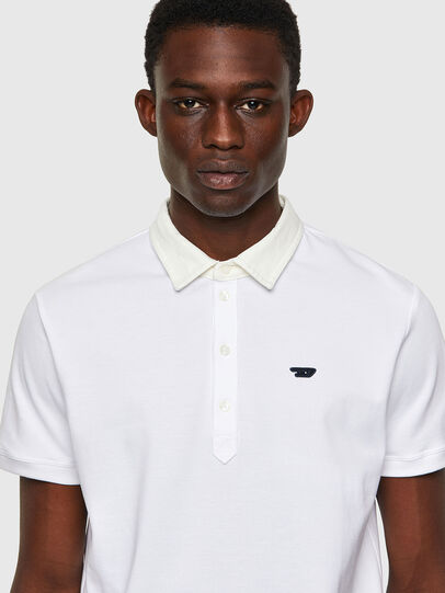 Diesel - T-MILES-NEW, Bianco - Polo - Image 3