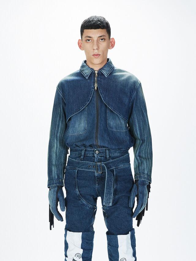 Diesel - SOGLV01-KIT, Blu Jeans - Guanti - Image 3