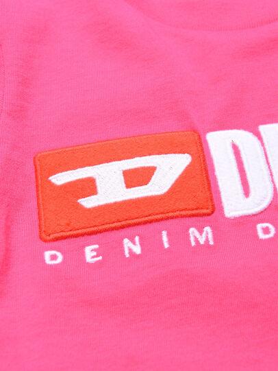 Diesel - TJUSTDIVISIONB ML, Fucsia - T-shirts e Tops - Image 3