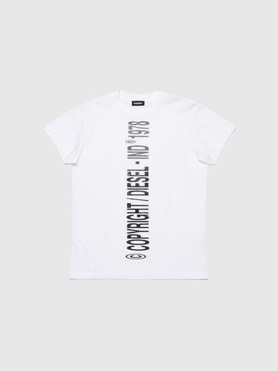 Diesel - TILCOPY, Bianco - T-shirts e Tops - Image 1