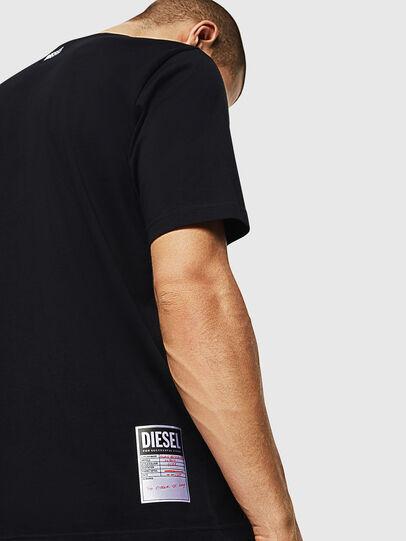 Diesel - T-JUST-B28, Nero - T-Shirts - Image 3