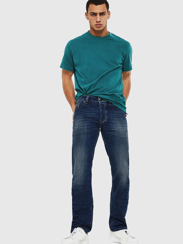 Diesel - Larkee 087AW, Blu Scuro - Jeans - Image 5