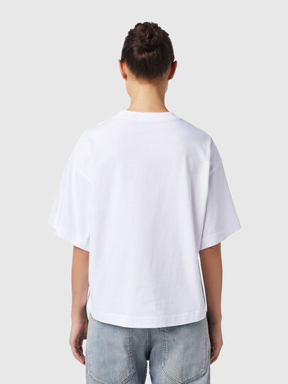 Diesel - T-BOWXY-B1, Bianco - T-Shirts - Image 2