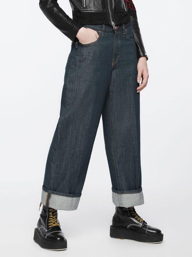 Diesel - Widee 084UR, Blu Scuro - Jeans - Image 3