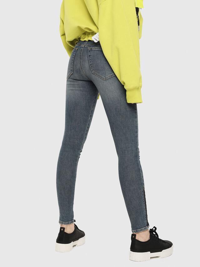 Diesel - Slandy Zip 085AZ, Blu medio - Jeans - Image 2